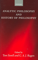 Analytic philosophy and history of philosophy /
