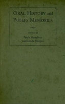 Oral history and public memories /