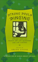 Strong souls singing : African American books for our daughters and our sisters /