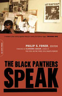 The Black Panthers speak /