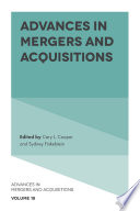 Advances in mergers and acquisitions /