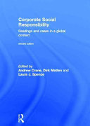 Corporate social responsibility : readings and cases in a global context /