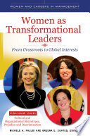 Women as transformational leaders : from grassroots to global interests /