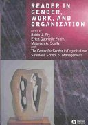Reader in gender, work, and organization /