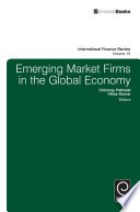 Emerging market firms in the global economy /