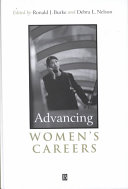 Advancing women's careers : research and practice /