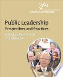Public leadership pespectives and practices /