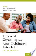 Financial capability and asset holding in later life : a life course perspective /