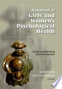 Handbook of girls' and women's psychological health /