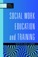 Social work education and training /