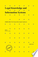 Legal knowledge and information systems : JURIX 2013 : the twenty-sixth annual conference /