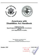 Americans with Disabilities Act handbook.