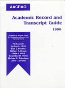 AACRAO academic record and transcript guide /