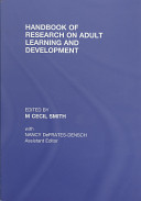 Handbook of research on adult learning and development /
