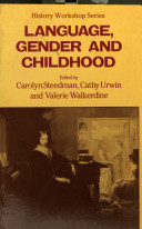 Language, gender, and childhood /