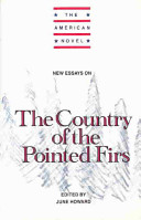 New essays on The country of the pointed firs /