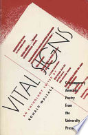 Vital signs : contemporary American poetry from the university presses /