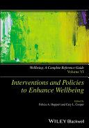 Interventions and policies to enhance wellbeing /