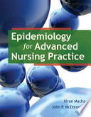 Epidemiology for advanced nursing practice /