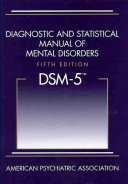 Diagnostic and statistical manual of mental disorders : DSM-5.