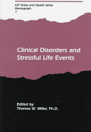 Clinical disorders and stressful life events /