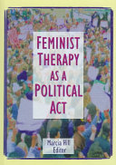 Feminist therapy as a political act /