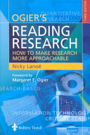 Ogier's reading research : how to make research more approachable.