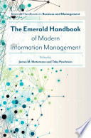 The Emerald Handbook of Modern Information Management /