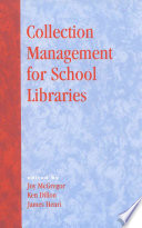 Collection management for school libraries /