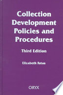 Collection development policies and procedures /