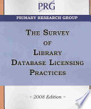 Survey of library database licensing practices.