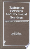 Reference services and technical services : interactions in library practice /