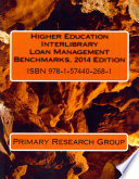 Higher education interlibrary loan management benchmarks.
