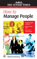 How to manage people /