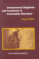Interpersonal diagnosis and treatment of personality disorders /