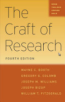 The craft of research /