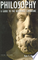 Philosophy : a guide to the reference literature /
