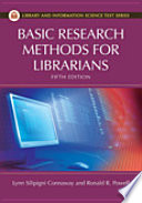 Basic research methods for librarians /