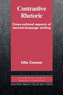 Contrastive rhetoric : cross-cultural aspects of second-language writing /