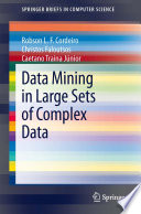 Data mining in large sets of complex data /