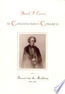 The Constitution in Congress : the Federalist period 1789-1801 /