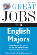 Great jobs for English majors /