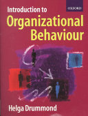Introduction to organizational behaviour /