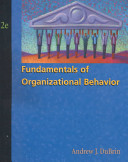Fundamentals of organizational behavior /
