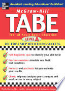 TABE : test of adult basic education : the first step to lifelong success /