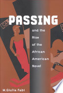 Passing and the rise of the African American novel /