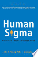 Human sigma : managing the employee-customer encounter /