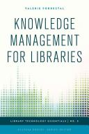 Knowledge management for libraries /