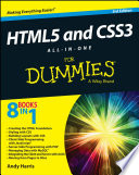 HTML5 and CSS3 all-in-one for dummies /