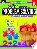 180 days of problem solving for kindergarten /